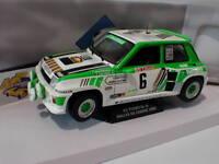 "Solido S1801303 - Renault R5 Turbo Gr.B Nr. 6 Rallye de Lozere 1985 ""Legal"" 1:18"