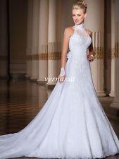 NEW White/Ivory Bridal Gown Wedding Dress Custom Size 6-8-10-12-14-16++