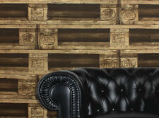 Unusual Wooden Pallet, Paste the Wall, Washable Wallpaper