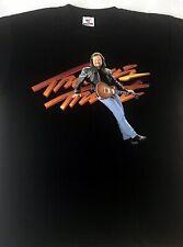 Vintage! TRAVIS TRITT Burning Thunder tour 1998 TOUR T - Shirt - Large NOS
