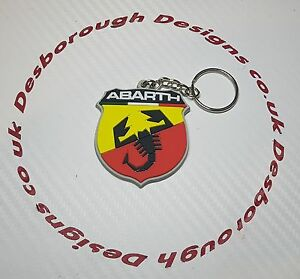 Fiat Abarth Key Anello 500 124 131