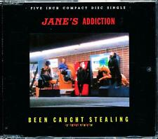 "JANE'S ADDICTION BEEN CAUGHT STEALING 12"" REMIX VERSION 4 TRACK CD - NM - LN"