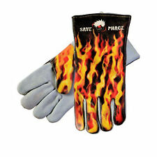Save Phace 3012718 X-Large Fired Up Welding Gloves AB Grade Leather