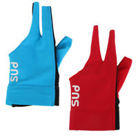 2Pcs Professional Three Fingers Glove For Pool Billiards Accessories Snooker