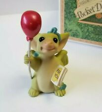 """""""For Your Birthday"""" Whimsical World of Pocket Dragons by Real Musgrave with Box"""