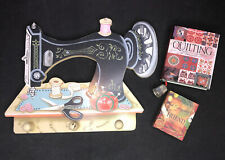 New ListingWall Decor Antique Sewing Machine Art Singer Sewing Room Quilting Book Key Hook