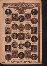 World War I Roll of Honor 1919 Deaths of Heros #88