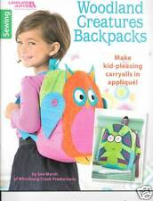 WOODLAND CREATURES 5  BACKPACK NEW SEWING PATTERNS BOOKLET