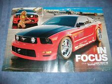 "2005 Ford Mustang GT Article ""In Focus"" Vortech Supercharged"