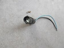 RENAULT CLIO MK2 MODELS 1998 - 2006 PLUG AND WIRES FOR NUMBER PLATE LIGHT UNIT