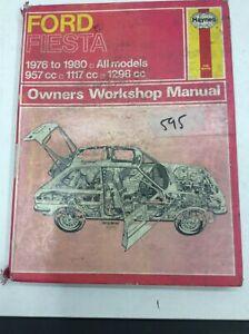 Haynes Manual Used Ford Fiesta 1976 - 1981 Mark 1