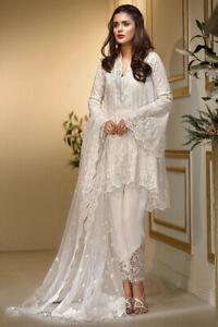 pakistani designer shalwar kameez unstitched Maria B Baroque Indian Asian Suit