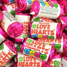 1kg swizzels Love Hearts sweets, fizzy sweets, Wedding Party Sweets
