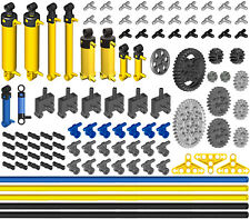 Lego Pneumatic KIT 6 (cylinder,pump,tube,hose,switch,valve,piston,tubing,ev3)