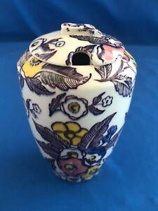 Vernon Kilns GRACE Jam Jar w notched Lid 1939 Excellent Condition - Ultra Shape
