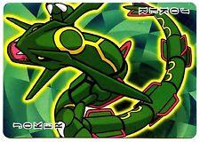 PROMO POKEMON JAPANESE CARD -CAJ DOS JAUNE- N°  JOKER - RAYQUAZA
