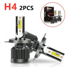 Pair 0f H4 COB LED Car Headlight Headlamp 20000LM 6000K 110W White Bright Bulb