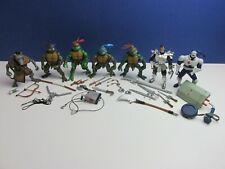 TMNT 2004 SET action figure TEENAGE MUTANT NINJA TURTLES splinter shredder LOT