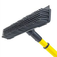 Artificial Lawn Brush Broom Garden Rubber Head 3G 4G Fake Astro Turf Telescopic