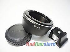Contax Yashica CY C/Y Lens to Fujifilm Fuji FX X-Pro1 tripod mount adapter + CAP