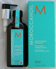 Moroccanoil Treatment Original 3.4oz /100ml by Moroccan Oil  PUMP NEW IN BOX