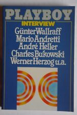R201176 Playboy Interview 2 - Günter Wallraff, Mario Andretti, Andre Heller, Cha