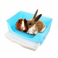 Oncpcare Super Large Pet Litter Box, Small Animals Restroom Rabbit Toilet.