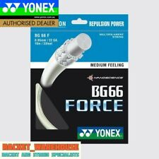 5 x PACKETS YONEX BG66 FORCE BADMINTON RACKET STRING 100% GENUINE CHOOSE COLOUR