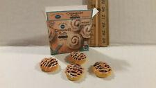 Barbie Doll 1:6 Kitchen Food Miniature Box Cinnamon Rolls