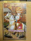 Vintage Antique Halloween Postcard - Pumpkin Head On A WHITE HORSE Signed