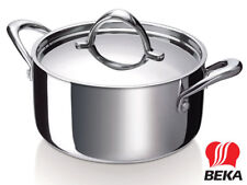 Beka 3-ply Saucepan Synergy 16 cm with Lid Stainless Steel Multi Layer Pot