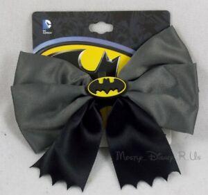 New DC Comics Cosplay Batman Bat Logo Bow Tie Halloween Costume Hair Clip