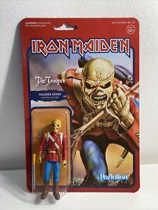 Iron Maiden Soldier Eddie The Trooper Super7 ReAction Action Figure Collectible