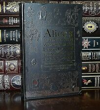 Alice in Wonderland Lewis Carroll Poems Illustrated New Deluxe Hardcover Gift