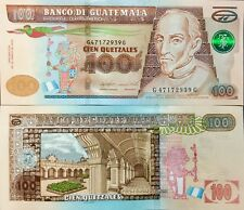 "Guatemala 100 Quetzales Bill Series 2015 ""Uncirculated"" Nice & Crisp Paper Money"
