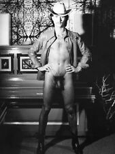 """Männer AKT Erotik Gay """" Der Cowboy """" Nudist Fotokunst 1970"""