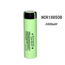 1pc Genuine Panasonic NCR18650B 3400mAh Li-ion Rechargeable Battery Japan Made