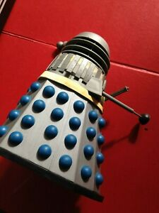 Doctor Who 1/18 Scale Comet Miniatures Silver Blue Dalek For Sapres / Repairs