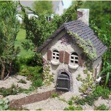 Miniature Fairy Garden Ivy House door opens, 1A-P0XT-KN4L, B00HK2D9C2 and Resin