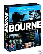 The Bourne Collection (Blu-ray Region-Free)~~4 Movies~~~Quadrilogy~~NEW & SEALED