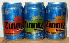 3 ZINNIZ beer cans from HOLLAND (33cl)