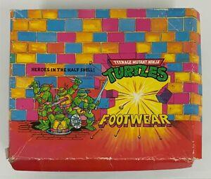 Teenage Mutant Ninja Turtle Footwear Empty Shoe Box 1991
