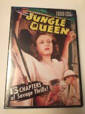 Jungle Queen DVD Region ALL.  Brand New & Sealed. 1000 Jungle Terrors!  13 Chap