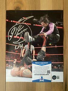 Jeff Hardy Signed Autographed 8x10 Photo COA BAS Beckett #BA09311