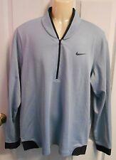 NEW Cal Bears Nike Tiger Woods Golf Cypress Shield 1/2zip Pullover Jacket Mens L