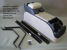 P71 Tan Center Console with Light Camel Tan Armrest & Mount KIT Crown Vic 06-11