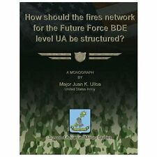 How Should the Fires Network for the Future Force BDE Level UA Be Structured?...