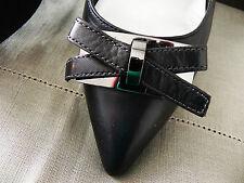 Superbes Chaussures Escarpins Jb Martin Neuves Cuir noir pointure 40 prix 120E