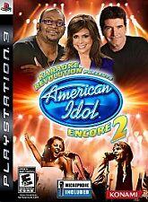 Karaoke Revolution Presents:American Idol Encore 2 Sony PlayStation 3, 2008) PS3