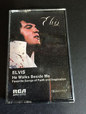 Elvis Presley-He Walks Beside Me-Audio Cassette Tape-Good Condition